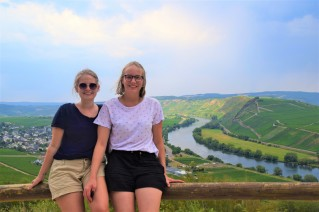 Mosel view near Panoramabad Leiwen