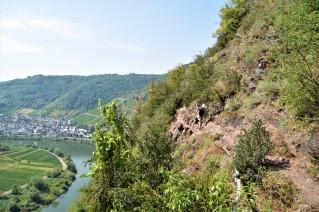 Klettersteig Bremm